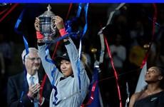 Tay vợt người Nhật Naomi Osaka phá vỡ kỷ lục về thu nhập hằng năm