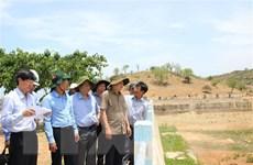 Tìm giải pháp ứng phó với hạn hán nặng nề tại Bình Thuận