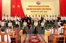 Bình Phước: Đại hội điểm Bí thư kiêm Chủ tịch UBND huyện Lộc Ninh