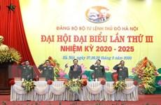 Đảng bộ Bộ Tư lệnh Thủ đô xây dựng thế trận an ninh nhân dân vững mạnh