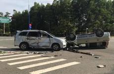 Bình Dương: Va chạm giữa hai ôtô, nhiều trẻ em bị thương