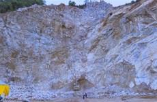 Điện Biên: Tai nạn tại mỏ đá, 2 người tử vong, 1 người mất tích