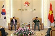 Tăng cường hợp tác quốc phòng giữa Việt Nam và Hàn Quốc