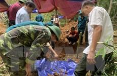 Tìm thấy hài cốt 17 chiến sỹ đặc công được chôn tập thể 50 năm trước