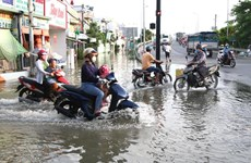 TP Hồ Chí Minh chưa thể giải quyết dứt điểm tình trạng ngập nước