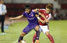 Chiến thắng sát nút giúp Sài Gòn FC vươn lên ngôi đầu bảng V-League
