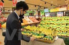 Chuối Việt Nam chính thức vào chuỗi siêu thị Lotte Hàn Quốc