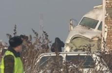 Máy bay hạng nhẹ rơi trúng một siêu thị lớn ở miền Nam Ukraine
