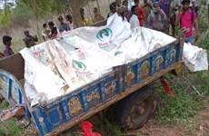 Ấn Độ: Xe tải lao vào xe công nông chở người, ít nhất 10 người chết