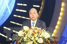 Thủ tướng Nguyễn Xuân Phúc dự Lễ trao giải báo chí Quốc gia 2019