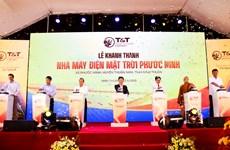 T&T Group khánh thành Nhà máy điện Mặt Trời Phước Ninh