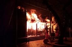 Hà Nội: Hỏa hoạn thiêu rụi gần hết hiện vật ở đền Lâm Du