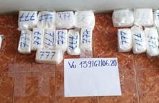 Khởi tố, tạm giam năm đối tượng trong vụ buôn lậu hơn 34kg ma túy