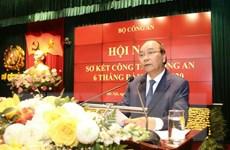 Thủ tướng: Bảo vệ tuyệt đối an toàn đại hội đảng bộ các cấp