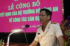 Bổ nhiệm Đại tá Nguyễn Văn Thanh làm Giám đốc Công an tỉnh Quảng Trị