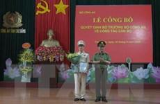 Đại tá Vũ Hồng Quang được bổ nhiệm làm Giám đốc Công an tỉnh Cao Bằng
