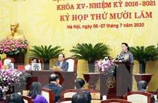 Khai mạc Kỳ họp thứ 15 Hội đồng Nhân dân thành phố Hà Nội
