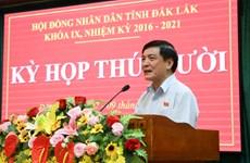 Hội đồng Nhân dân tỉnh Đắk Lắk thông qua 20 nghị quyết quan trọng