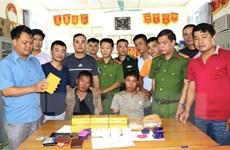 Điện Biên: Phá thành công chuyên án 20 bánh heroin, 12.000 viên ma túy