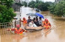 Trung Quốc: Tỉnh Giang Tây đưa ra cảnh báo lũ cao nhất