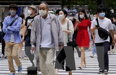 Số ca nhiễm mới COVID-19 ở thủ đô Tokyo tiếp tục tăng nhanh