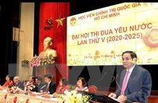 Phát triển Học viện Chính trị quốc gia Hồ Chí Minh ngang tầm nhiệm vụ