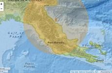 Động đất 7,3 độ, Papua New Guinea kích hoạt cảnh báo sóng thần