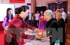 Chủ tịch Quốc hội dự Lễ trao Bằng Tổ quốc ghi công tại Quảng Nam