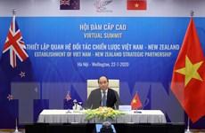 Nâng cấp quan hệ Việt Nam-New Zealand lên Đối tác chiến lược