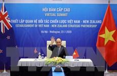 Tuyên bố chung về Quan hệ Đối tác chiến lược Việt Nam-New Zealand