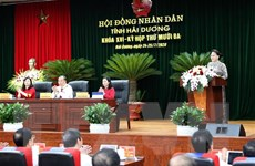 Chủ tịch Quốc hội dự Kỳ họp thứ 13 Hội đồng nhân dân tỉnh Hải Dương