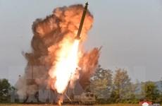 Triều Tiên tập trận, phóng tên lửa hành trình chống hạm