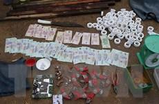 An Giang triệt phá sới bạc lớn ở vùng biên, bắt giữ 150 đối tượng