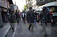 Philippines triển khai cảnh sát giám sát thực hiện phong tỏa Manila