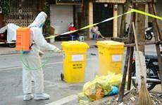 Hướng dẫn quản lý chất thải và vệ sinh trong phòng, chống COVID-19