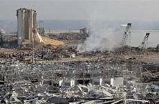 Điện chia buồn về hai vụ nổ tại cảng Beirut của Liban