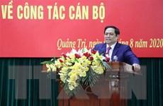 Công bố quyết định của Bộ Chính trị về công tác cán bộ tỉnh Quảng Trị