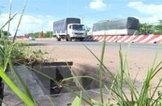 Bình Phước: Lắp mới toàn bộ nắp hố ga bị mất cắp trên đường ĐT.741