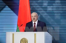 Điện mừng Tổng thống Cộng hòa Belarus Alexander Lukashenko
