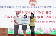 Hà Nội tiếp nhận ủng hộ 50.000 bộ lấy mẫu xét nghiệm virus SARS-CoV-2
