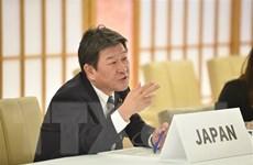 Ngoại trưởng Nhật Bản Toshimitsu Motegi thăm chính thức Singapore