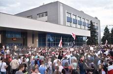 Thêm quan điểm phản đối bên ngoài can thiệp vào tình hình Belarus