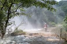 Điện Biên: Nguy cơ sạt lở tuyến đường độc đạo đi xã biên giới Pa Thơm