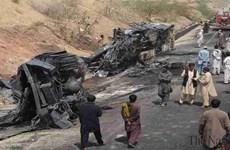 Tai nạn nghiêm trọng ở Pakistan, ít nhất 10 người thiệt mạng
