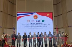 Khai trương Trung tâm triển lãm hàng Việt chất lượng cao ở Thái Lan