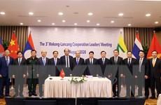Lãnh đạo các nước MLC đánh giá cao thành tựu hợp tác Mekong-Lan Thương