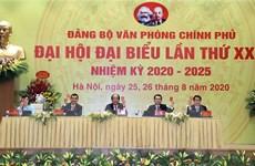 Văn phòng Chính phủ đóng góp hoàn thiện dự thảo văn kiện Đại hội Đảng