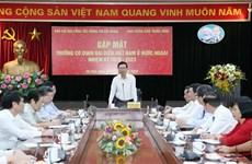 Trưởng Ban Tuyên giáo TW gặp mặt Trưởng đại diện Việt Nam ở nước ngoài