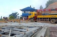 Bình Thuận: Tháo dỡ trạm dừng chân Panorama trên đèo Đại Ninh