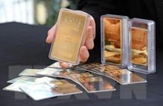 Giá vàng trên thị trường châu Á tăng gần 1% phiên 28/8